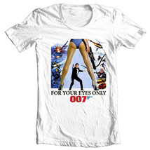 James Bond T-shirt 007 For Your Eyes Only retro vintage 1970s movie tee shirt image 2