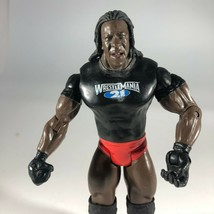 WWE Booker T Wrestlemania 21 Wrestling Action Figure Vintage 2003 - $19.79