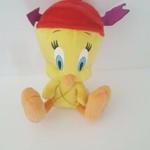 Looney Tunes Tweety Bird Plush Stuffed Valentines Day Warner Bros. - $12.86