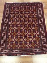 Astounding Ghashghaei Shiraz-1970s Antique Persian Rug-Oriental Carpet-4... - $649.59