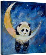 ArtWall Panda Stars Gallery Wrapped Canvas Art by Michael Creese, 24 by ... - $91.90