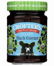 Crofter's Fruit Spread, Black Currant, Organic, 10oz, Case of 6 jars pre... - $33.99