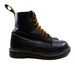 Dr Martens Men's Pascal Lace Up Boots Doc Martens Dark Brown Leather Siz... - $68.59