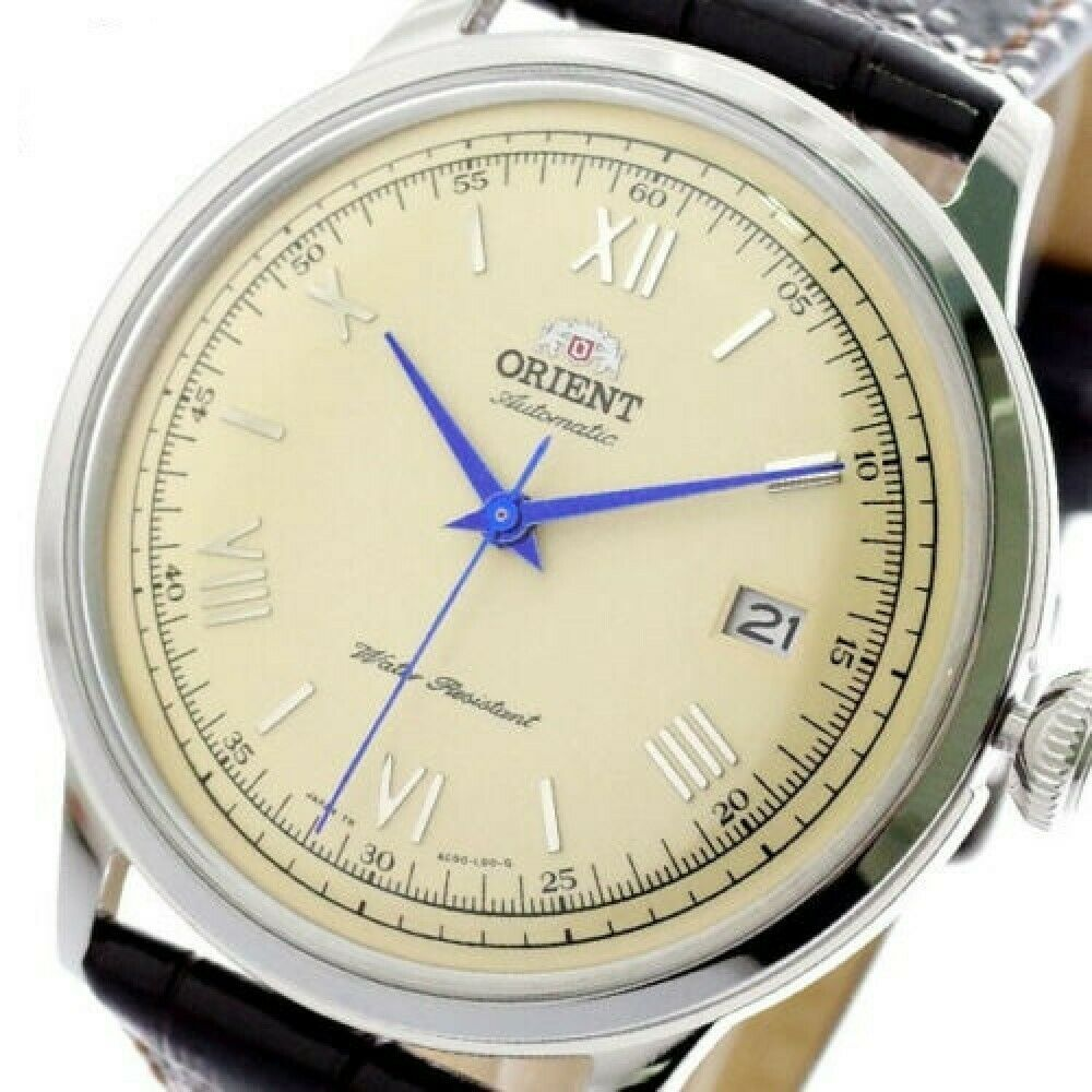 Primary image for ORIENT Bambino SAC00009N0 Mechanical Automatic Watch with Tracking