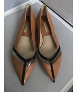Michael Kors Vero Cuoio Jamelia Brown pointed toe flats Size 38.5/US 8 - $29.65