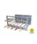 Brazilian BBQ Charcoal Grill - 09 Skewers - Rotisserie System - Oca-Brazil - $1,067.00