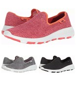 SKECHERS WOMEN'S GO WALK COOL 15650 WATER RESUSTANT SNEAKERS - $47.99