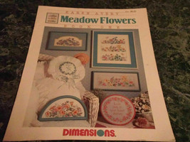 Meadow Flowers book One 1 by Karen Avery Dimensions cross stitch - $2.99