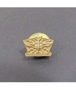 Vintage United States Air Force Military Pin Badge Wings Lightning - $23.65