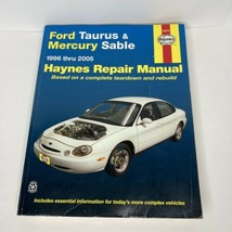 Haynes Automotive Repair Manual Book 36075 1996-2005 Ford Taurus Mercury Sable - $9.99
