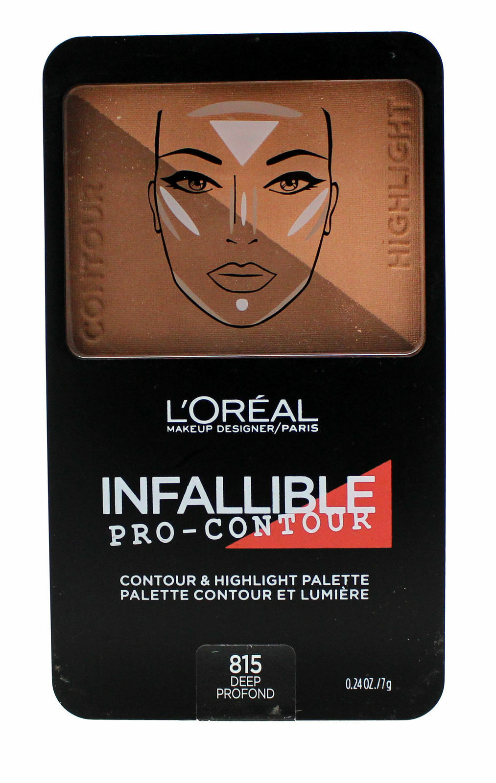 Primary image for L'oreal Infallible Pro-Contour & Hightlight Palette - 815 Deep