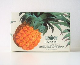 CST Lavare Vegetable Based Boxed Pineapple Bath Bar Soap - $14.00