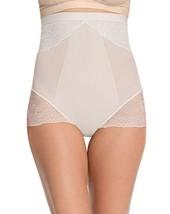 SPANX 10121P Lace High Waisted Brief Underwear Clean White ( 2X ) - $69.97