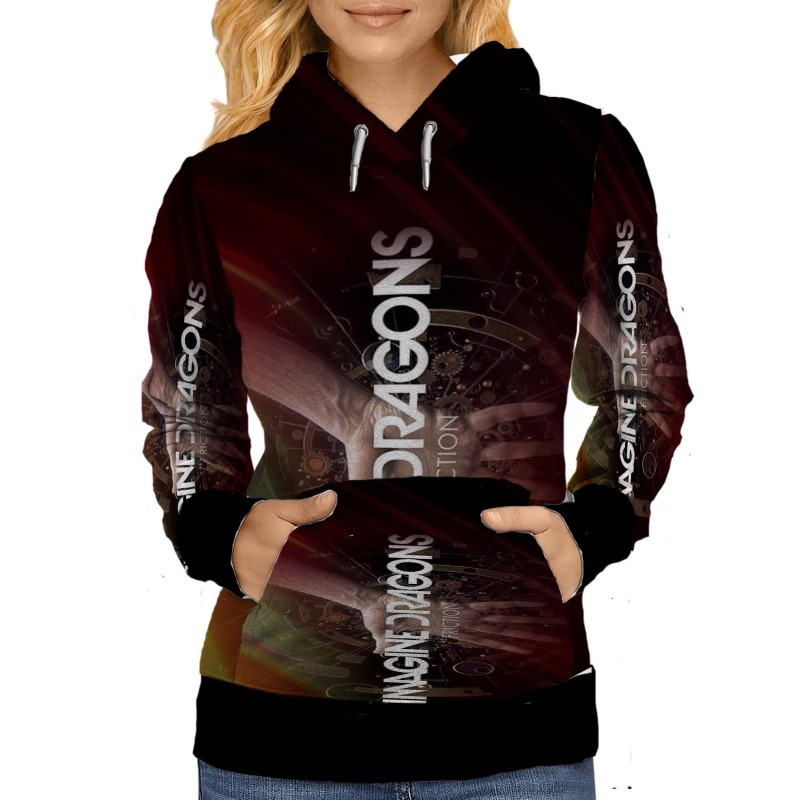 Imagine Dragons Friction WOMENS HOODIE image 2