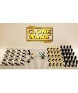 64pcs Star Wars General Grievous Battle Droids With Obi Wan Anakin Minif... - $49.99