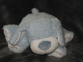 "2005 ty pluffies blue white snugger pup puppy dog plush beanie baby 5"" tall - $32.66"