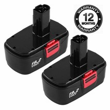 2Packs 19.2V 3.6Ah Replacement Battery for Craftsman DieHard C3 315.115410 31... - $44.54