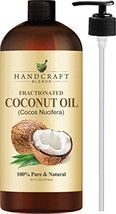 Handcraft Fractionated Coconut Oil - 100 Percent Pure and Natural - Premium Ther