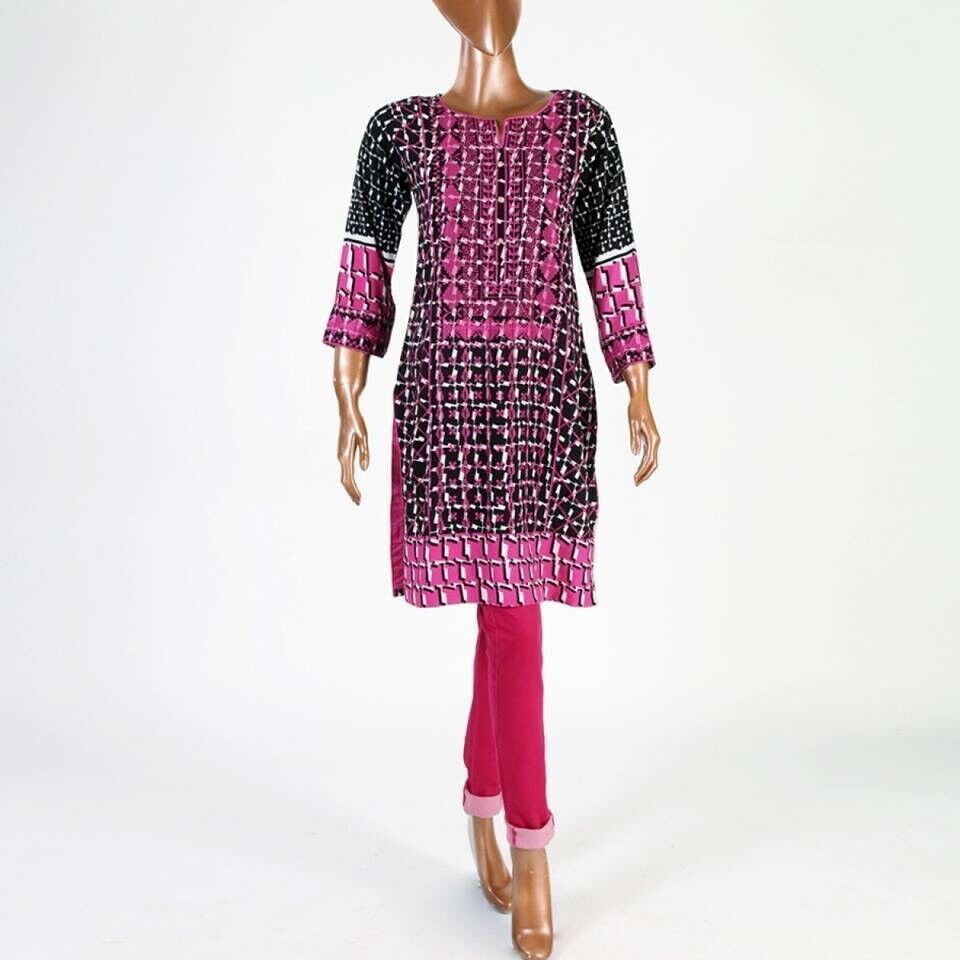 Primary image for Hot Pink small pakistani kurta with Thread Embroidery