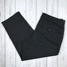 Talbots Dress Pants Women's Petites 10P Black White Polka Dot Heritage Crop - $19.99