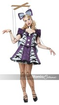 California Costumes Marionetta Bambola Pupazzo Adulto Donna Halloween 01385 - $30.73