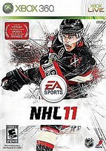 NHL 11 (Xbox 360, 2010) Complete Disc, Case & Manual - $3.88
