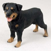 ROTTWEILER DOG Figurine Statue Hand Painted Resin Gift Pet Lovers Black ... - $17.25