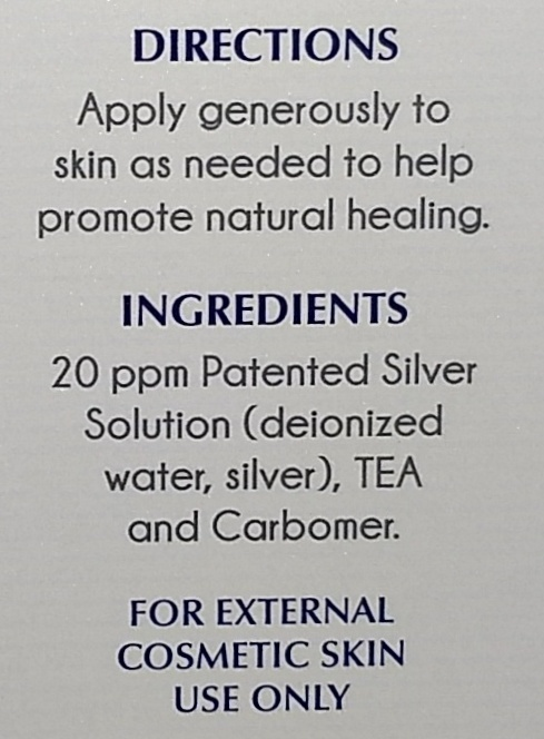 Silver Biotics Silver Sol Gel 1.5 oz - 1 Tube (1.5 oz)