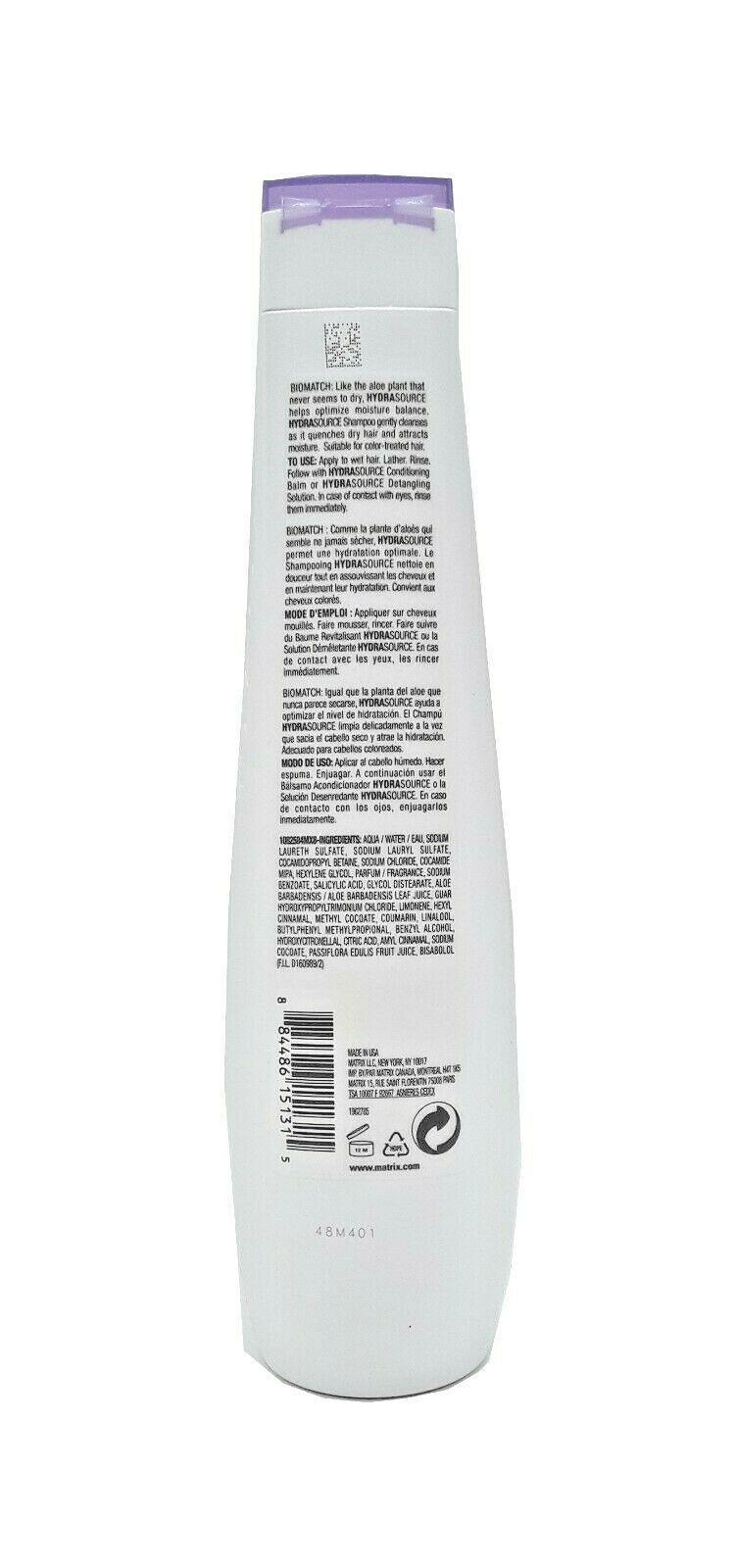Biolage HydraSource Shampoo for Dry Hair 13.5 oz / 400 ml