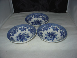 """(3) Johnson Brothers """"ASIATIC PHEASANT BLUE"""" Soup Cereal Bowl - $8.00"""