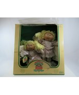 Cabbage Patch Kids Twins Caucasian Coleco 1985 New in Box Vintage - $77.22