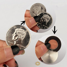 magnetic flipper coin Butterfly Coin&Money Magic, Magic Trick Coin (made... - $24.21