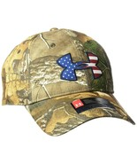 Under Armour Men's Camo BFL Flap Cap One Size Adjustable Snapback Hunting - $25.24