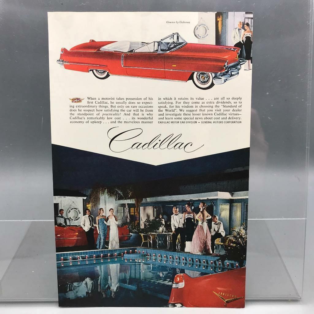 Vintage Magazine Ad Print Design Advertising Cadillac Automobiles - $12.86