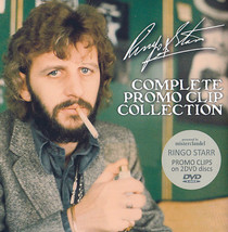 "RINGO STARR DVD - ""Complete Promo Clip Collection"" (2 DVDs) - $39.00"