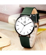 SK® Watches Change Color Quartz Watch Women Casual Fashion Japan Leather... - $26.40