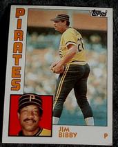 Jim Bibby, Pirates 1984 Topps Card, VG COND - $0.99