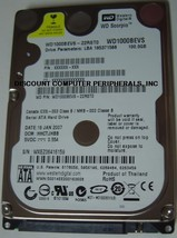 WD1000BEVS 100GB SATA 2.5inch Drive Tested Good Free USA Ship Our Drives... - $19.95
