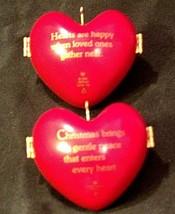 Hallmark Keepsake Christmas Ornaments Two Heart of Christmas Collector Series A image 2