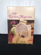 Vintage Popeil's Kitchen Magician Food Cutter 70s Slicer, Processor Shre... - $23.36