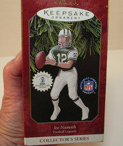 1997 NFL Hallmark Keepsake New York Jets Joe Namath Ornament+Trading Car... - $9.90