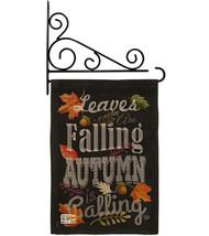 Autumn is Calling Fall Burlap - Impressions Decorative Metal Fansy Wall Bracket  - $33.97