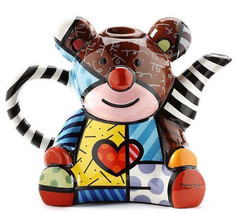 Romero Britto Ceramic Teapot - Teddy Bear Design 50oz size #334411