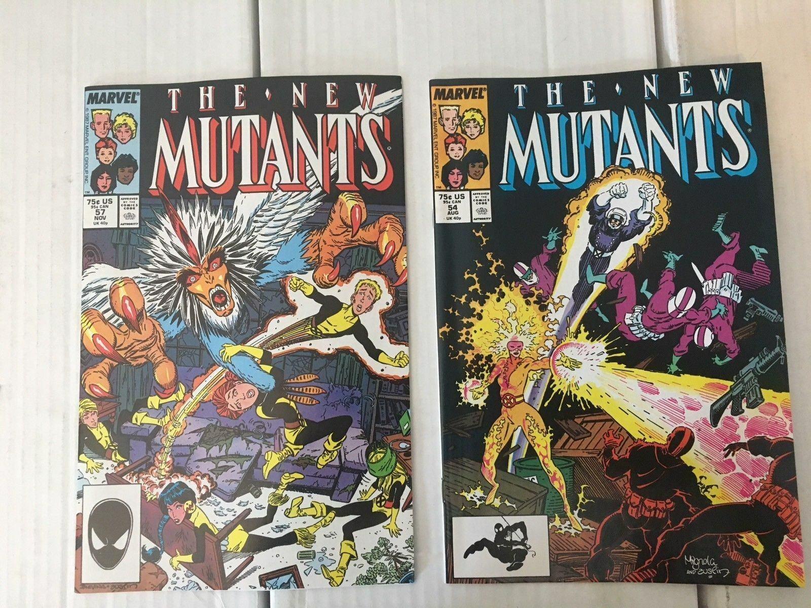 New Mutants #47 - 58 + ANNUAL 1987 Marvel Comic Book Run / Lot Of 13 VF/NM X-MEN
