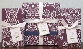 Pottery Barn Elaine Damask Duvet ~King/California King & Two Euro Shams - $159.00