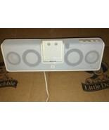 Logitech mm50 Portable Speaker System for iPod White  - $20.56