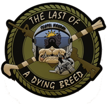US Army Last of a Dying Breed PVC Patch 3'' - $15.83