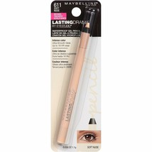 Maybelline New York Eyestudio Lasting Drama Waterproof Gel Pencil, Soft ... - $7.84