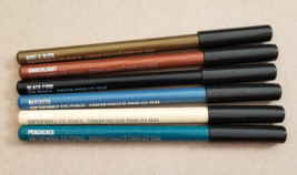 MAC Cosmetics 6 items Soft Sparkle Eye Liner Pencil Blue, Brown, Black, Yellow - $59.99