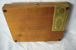 Lehigh Valley RR Made In Jamaica Wood Cigar Box image 2